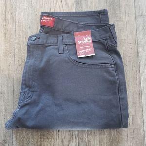 NWT Men Arizona Slim Straight Jean's Sz 38 x 30